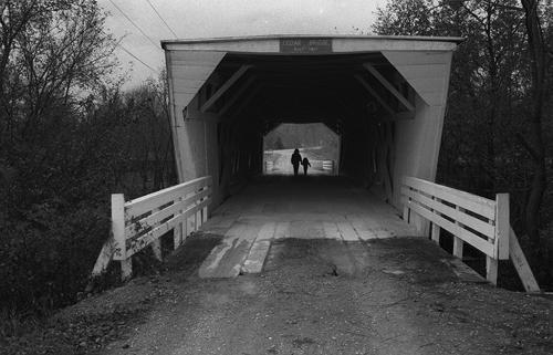 "Built in 1883 Cedar Bridge of the ""Bridges of Madison County"""