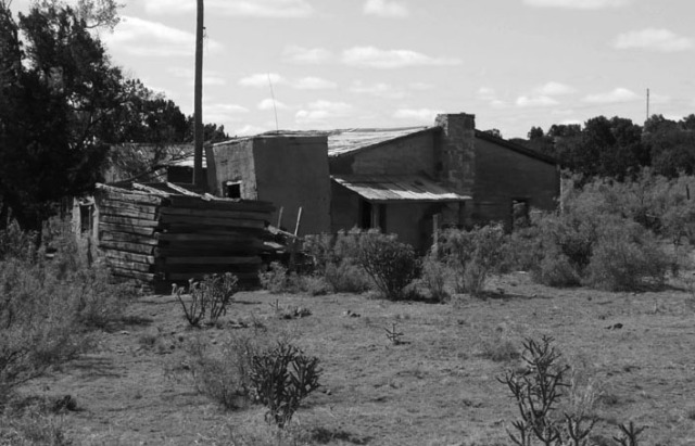 Old ranch home found outside of Amarillo, Texas on old Route 66.